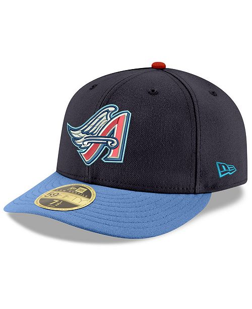 New Era. Los Angeles Angels Cooperstown Low Profile 59FIFTY Fitted Cap. Be  the first to Write a Review. main image ... b9773d957692