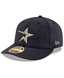 New Era Houston Astros Cooperstown Low Profile 59FIFTY Fitted Cap