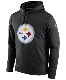 Nike Men's Pittsburgh Steelers Performance Circuit Logo Essential Hoodie