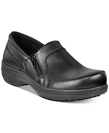 Easy Works By Easy Street Women's Bentley Slip Resistant Clogs