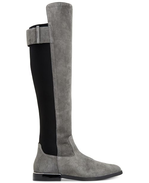 2a8f1aced75 Calvin Klein Women s Priya Wide Calf Over-The-Knee Boots   Reviews ...