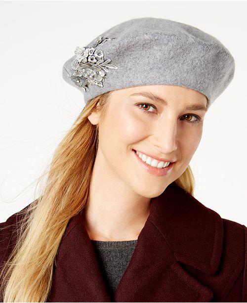 9769df02910 August Hats Appliqué Beret   Reviews - Handbags   Accessories ...