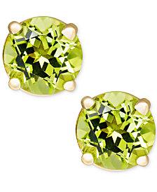 Peridot Stud Earrings in 14k Gold (1 ct. t.w.)