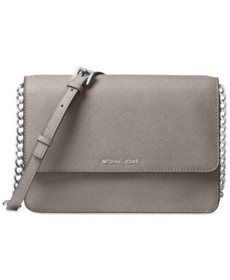 michael kors daniela saffiano leather crossbody handbags rh macys com