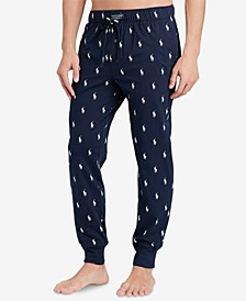 Men's Lightweight Cotton Logo Pajama Pants