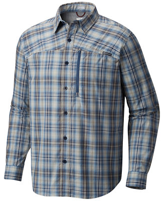 Columbia Men S Battle Ridgelong Plaid Shirt Casual