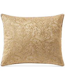 "Waterford Leighton Embroidered 16"" x 20"" Decorative Pillow"