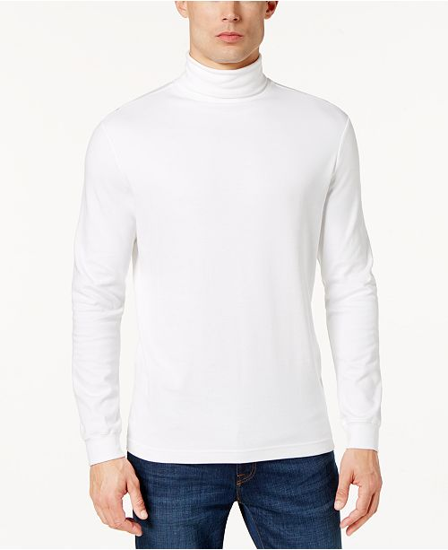 Club Room Men's Solid Turtleneck, Created for Macy's