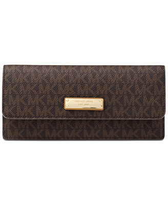Signature Flat Wallet by Michael Michael Kors