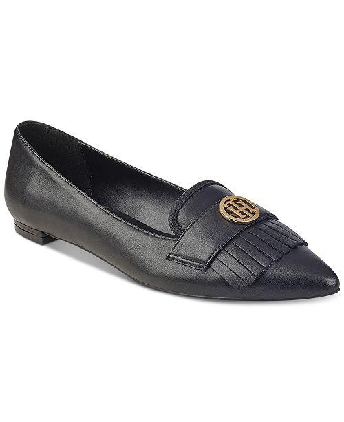 505c76cb73e3 Tommy Hilfiger Terzo Flats   Reviews - Flats - Shoes - Macy s