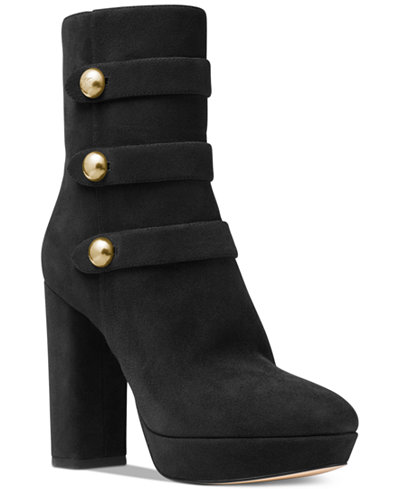 MICHAEL Michael Kors Maisie Ankle Booties