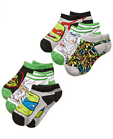 Ninja Turtles 6-Pk. No-Show Socks, Toddler Boys & Little Boys