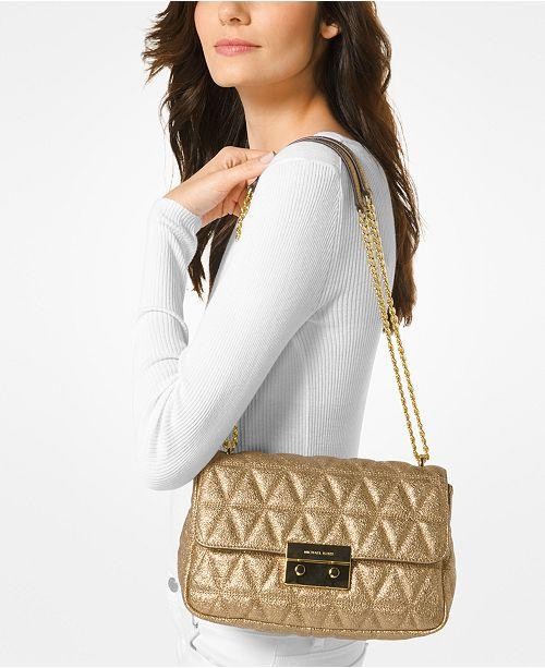 ba12be704b Michael Kors Sloan Large Chain Shoulder Bag   Reviews - Handbags ...