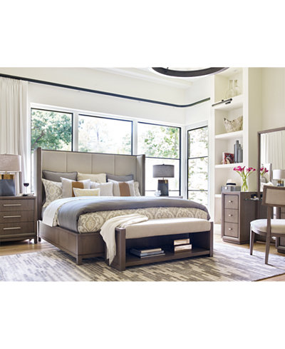 Rachael Ray Highline Upholstered Bedroom Furniture Collection ...