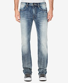 Men's Straight Fit Six-X Stretch Jeans