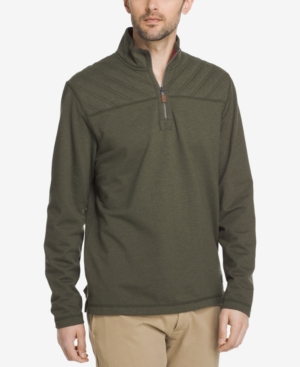 G.h. Bass & Co.  MEN'S QUARTER-ZIP FLEECE SWEATSHIRT