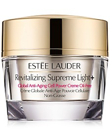 Estée Lauder Revitalizing Supreme Light+ Global Anti-Aging Cell Power Creme Oil-Free, 1.7-oz.