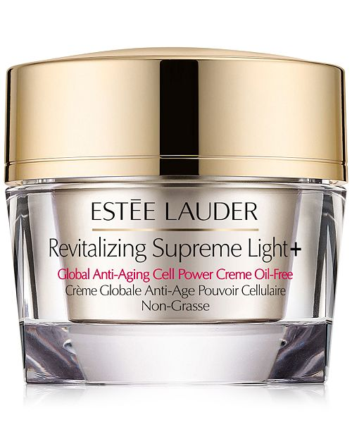 Estee Lauder Revitalizing Supreme Light Global Anti Aging Cell Power Creme Oil Free