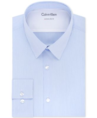 Kenneth Cole New York Mens Dress Shirt Slim Fit Check Dress Shirt