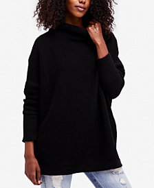 Free People Ottoman Ribbed Tunic Sweater