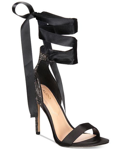 87f5876904cc ALDO Mirilian Tie-Up Dress Sandals   Reviews - Sandals   Flip Flops ...