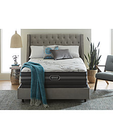 Beautyrest Black Reyna 13.5'' Plush Mattress Set- Queen