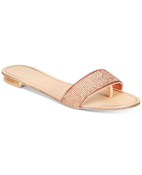 92113f03139 ALDO Soffia Embellished Slide Sandals   Reviews - Sandals   Flip ...