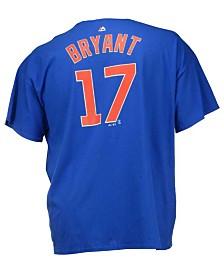 Majestic Men's Kris Bryant Chicago Cubs Official Player 3XL-4XL T-Shirt