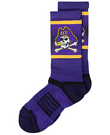 Strideline East Carolina Pirates Crew Socks II