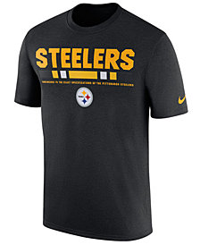 Nike Men's Pittsburgh Steelers Legend Staff T-Shirt