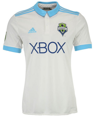 adidas Seattle Sounders FC Secondary Replica Jersey, Big Boys (8-20)
