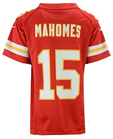 Nike Pat Mahomes Kansas City Chiefs Game Jersey, Big Boys (8-20)