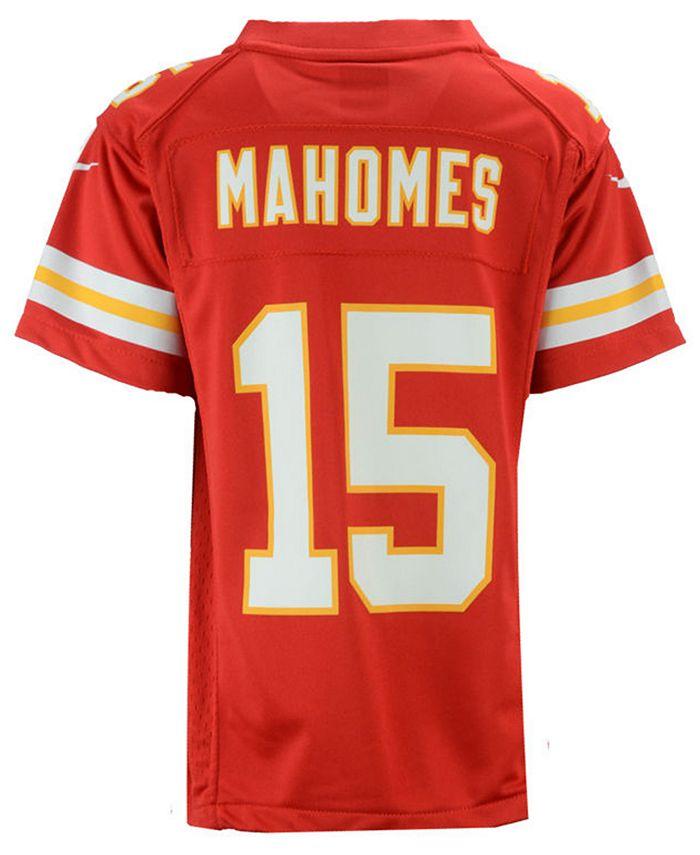 Pat Mahomes Kansas City Chiefs Game Jersey, Big Boys (8-20)