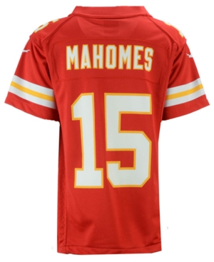 Nike Pat Mahomes Kansas City Chiefs Game Jersey, Big Boys (8-20)