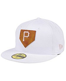 New Era Pittsburgh Pirates The Logo of Leather 59FIFTY Cap
