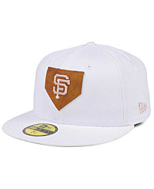 New Era San Francisco Giants The Logo of Leather 59FIFTY Cap