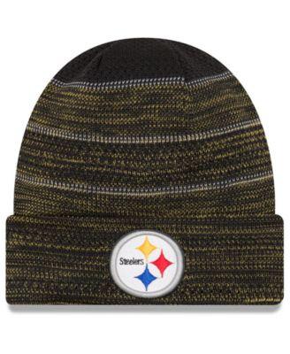 New Era Pittsburgh Steelers Touchdown Cuff Knit Hat - Sports Fan Shop By  Lids - Men - Macy s e4dabd166