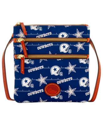 Dallas Cowboys Nylon Triple Zip Crossbody