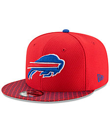New Era Boys' Buffalo Bills 2017 Official Sideline 9FIFTY Snapback Cap