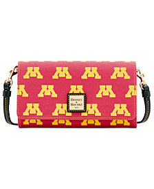 Dooney & Bourke Minnesota Golden Gophers Daphne Crossbody Wallet