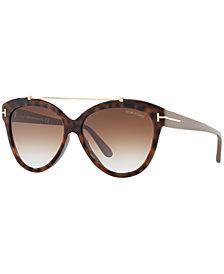 Tom Ford LIVIA Sunglasses, FT0518
