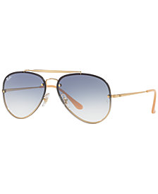 Ray-Ban Sunglasses, RB3584N BLAZE AVIATOR GRADIENT