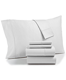 AQ Textiles Bradford StayFit Extra Deep Pocket 800 Thread Count 6-Pc. Queen Sheet Set