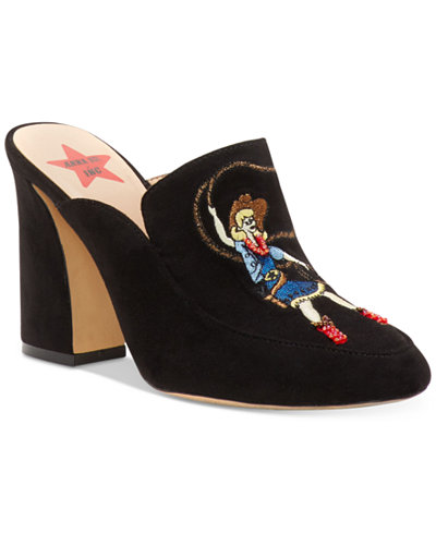 Anna Sui x I.N.C. Maddiee Mules, Created for Macy's