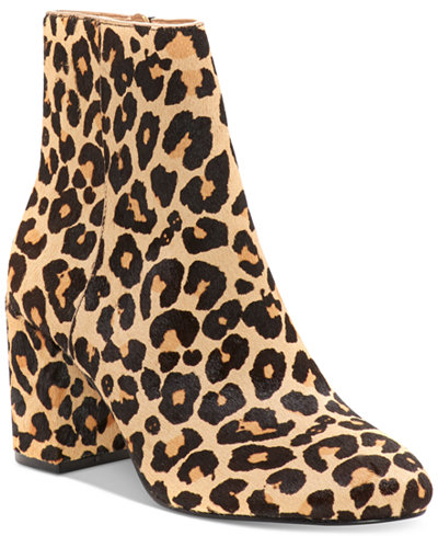 INC International Concepts Women's Georgiee Ankle Booties, Created for Macy's