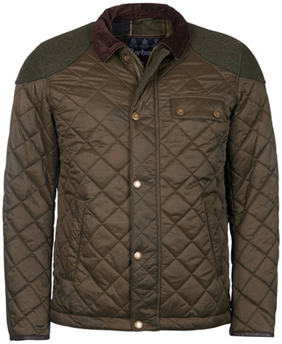 Sam Heughan for Barbour Men's Dunnotar Quilted Jacket - Coats ... : mens brown quilted jacket - Adamdwight.com