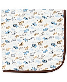 Baby Boys Cute Puppies Blanket