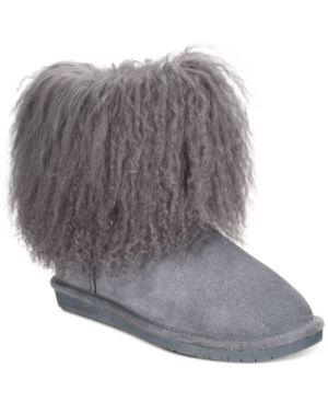 BEARPAW | Bearpaw Boo Cold Weather Booties Women'S Shoes | Goxip