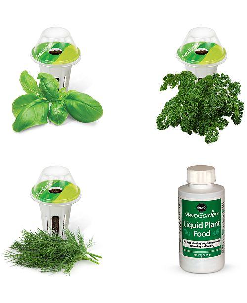AeroGarden  Gourmet Herb 3-Pod  Refill Kit