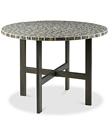 Mosaic Dining Table, Quick Ship